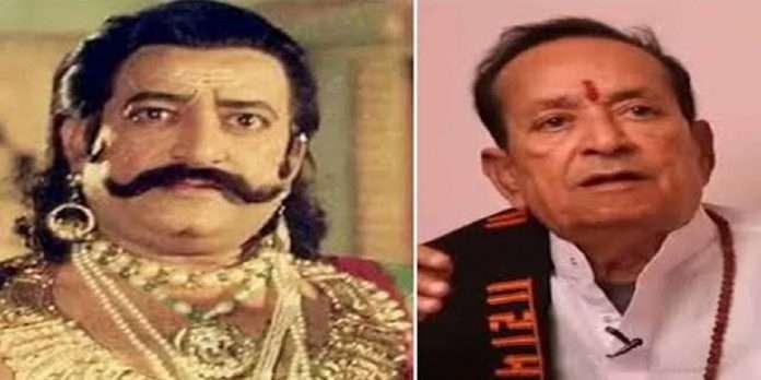 Ramayan ravan actor arvind trivedi pass away