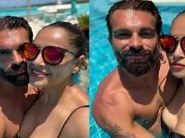 bollywood bipasha basu enjoy maldives vacation with husband shares romantic pictures on social media