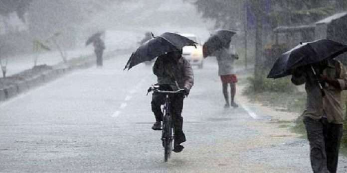 Rain Warning of thundershowers in some parts of state in next 24 hours