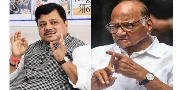 bjp pravin darekar slams sharad pawar statment on nawab malik lakhimpur violence and anil deshmukh ed case