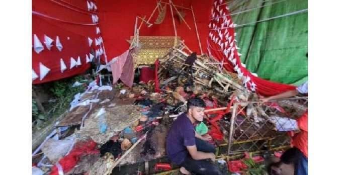 Goons attack Hindu temples in Bangladesh during Durga Puja, 3 killed; paramilitary force called in