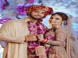 yeh hai mohabbatein fem actor abhishek malik got married with suhani chaoudhary