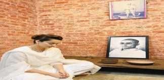 Kangana Ranaut visit andaman nicobar cellular jail and Greetings veer savarkar