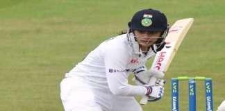 India vs Australia Smriti Manadhana century in Pink Ball Test