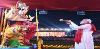 Navratri 2021 Prime Minister Modi wishes Navratri