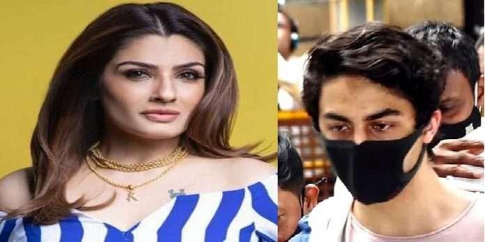 actress ravina tandon share tweet and say shameful Politics played with Aryan Khan