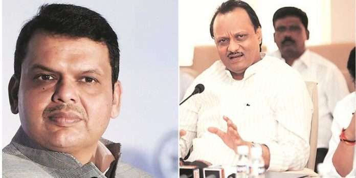 income tax officials raided companies ajit pawar relatives BJP Rection