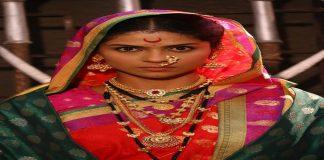 Actress swarda thigale in swarajya saudamini tararani marathi serial