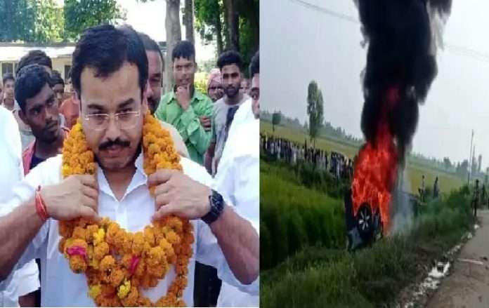 Lakhimpur violence up police filed complaint against union minister ajay mshira tenis son ahsish mishra