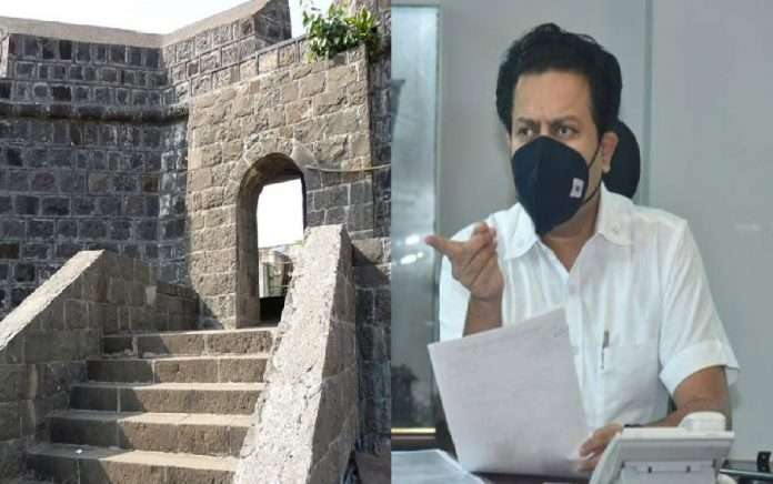 Amit Deshmukh gave instructions to officers prepare forts development plan