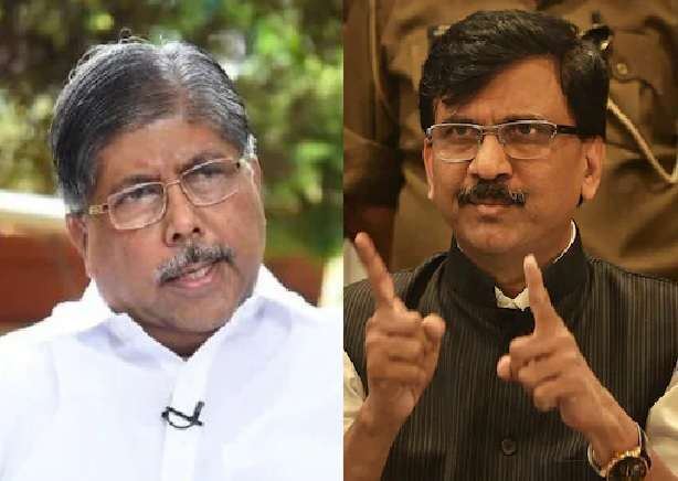sanjay raut issues defamation notice to chandrakant patil for defame comments
