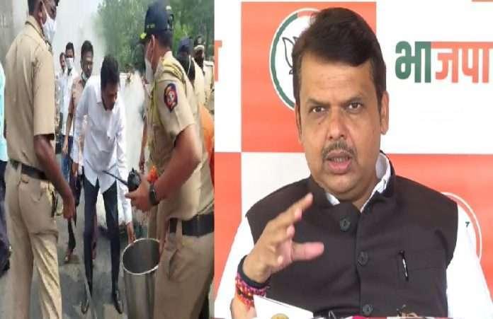 maharashtra band is state government sponsored terrorism fadnavis allegations on maha vikas aghadi