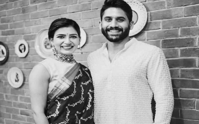 actress samantha wrote last year on her third wedding anniversary with naga chaitanya