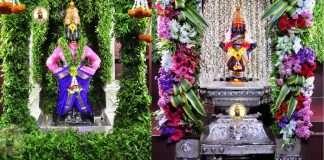 navratri 2021 today temples open in maharashtra mumbadevi tujapur ekvira devi pandharpur see all photos