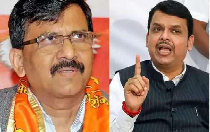 devendra fadnavis slams sanjay raut criticism of marathwada rain affected tour