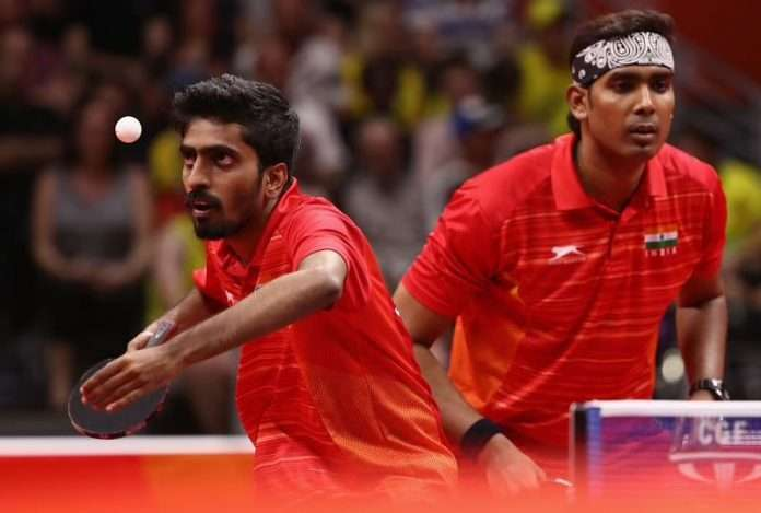 Asian TT Championships india wins 3 medal in double mens and single men tennis
